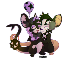 Some mice by wrensw