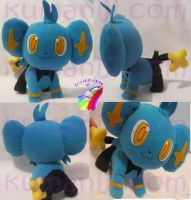 shinx pokemon plush by chocoloverx3
