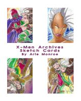 Xmen_Archives Sketch Cards 8 by mainasha