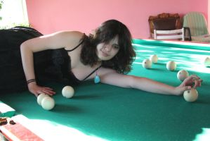 Maya and billiard 7 by Panopticon-Stock