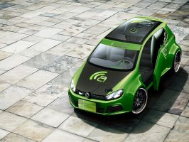 VW Golf R - Autemo by bauernbua