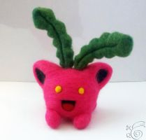 Hoppip Needlefelted by TheHarley