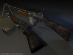 M1918 Browning Automatic Rifle by Volcol
