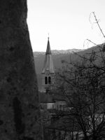 Church in Hoetting by Willihelm