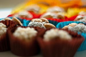 colourful sweets by msaxoria