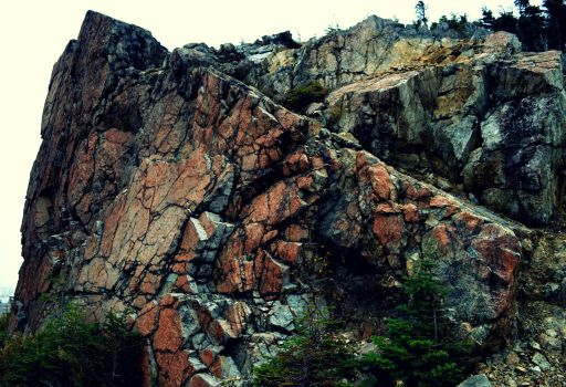 Rock Outcrop on Whiteface Mountain by donnatello129