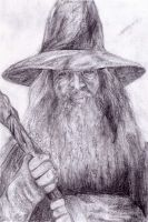 Gandalf, The Hobbit by Exoen144