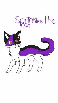 Sprinkles the Cat Aphmau by MagicalJelly15