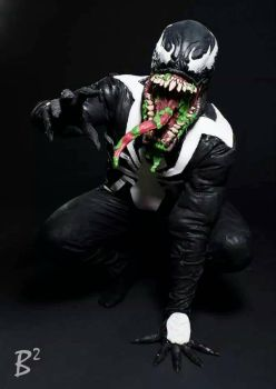 Venom cosplay by Venomous-Cosplay
