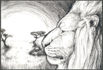 The Black and White Kingdom - ACEO by PoonieFox