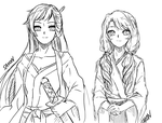 +Mother and Daughter by Sakon+ by Mama-Moose