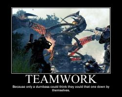 Lost Planet Teamwork by trebor469