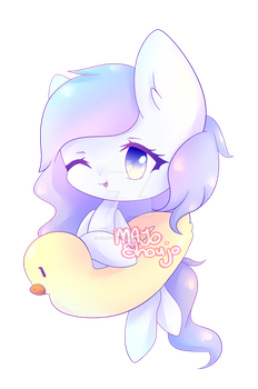 Lucky Duck ~ { Commission } by Majo-Shoujo