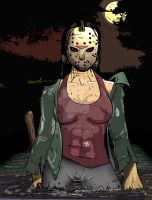 Janis Voorhees by clownnation