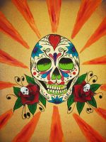 sugar skull by Bbiiirrdd