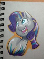 Rainbow Power Rarity by Flowbish