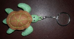 turtle keyring by Iglybo