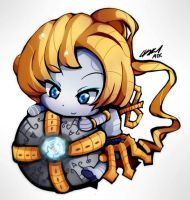 ChibiLeague - Orianna by ATK402