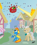 MLP - Beholder Attack! by Drewdini