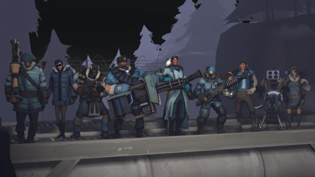 The Coldfront Clique by TheDragonMedic