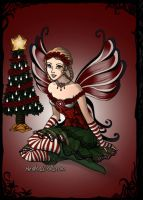 Christmas Fairy by LadyIlona1984