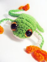 Caesar the Tree Frog by ex-astris1701