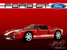 Ford GT by E-drian