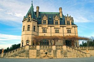 Biltmore Mansion - Side by Kitty-Kibbles