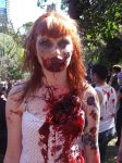 Zombie Redhead 1 by Rosary0fSighs