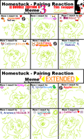 Homestuck Shipping Reaction Meme 3 by vomitcunt
