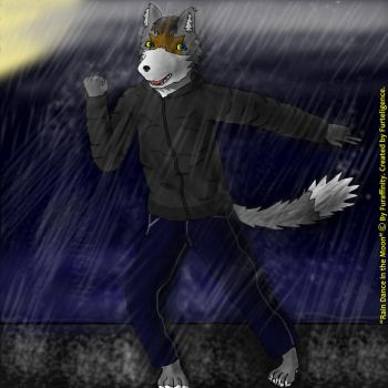 Rain Dance in the Moonlight by Furtelligence