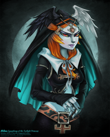 REDesign- Midna: Symphony of the Twilight Princess by MandarinSwift