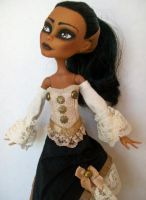 Steampunk Robecca Monster High Custom by AdeCiroDesigns
