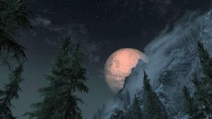 Skyrim Moon by loloalien
