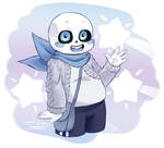 UnderSwap - Blueberry Sans by Purly