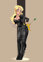 Black Canary by lufidelis