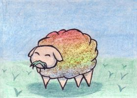 LSD - sheep by juneyleinchen