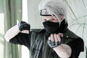 Kakashi Hatake cosplay  (link to bacchikoi dance) by lucky-pain