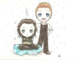 Loki and Tom Hiddleston... by YueTsukishiro