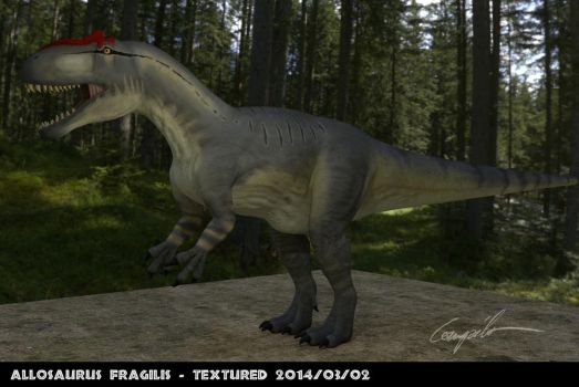 Allosaurus v2 - full body by c-compiler
