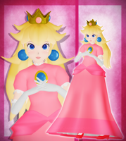 Princess Peach by CakeyKins