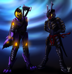 (Pc) Heros of two different worlds by Arenthor