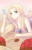 Tangled spaghetti! by EvilNul