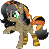 Comission-12 Cocoa Crystal Pony by Posey-11