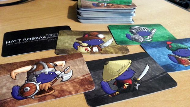 Business Trading Cards by KupoGames