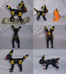 Clay Umbreon by Skeleion