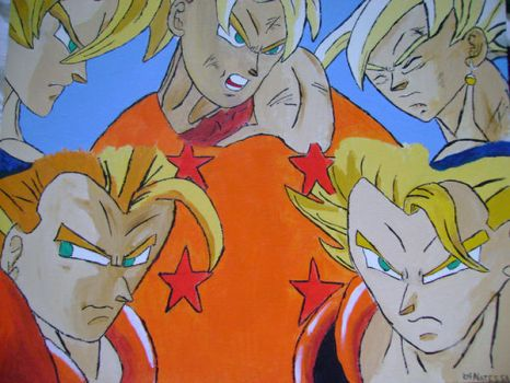 Dragonball Z Paint2 by RedianWolff