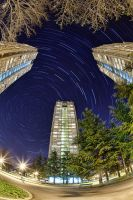 Eastern Gate Startrail by BorisMrdja