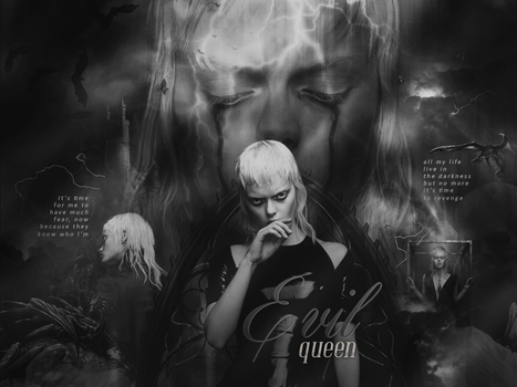 Blend Collab {Evil Queen} by shad-designs