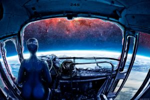Two tickets to the moon by alexiuss